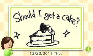 Swapnote cake