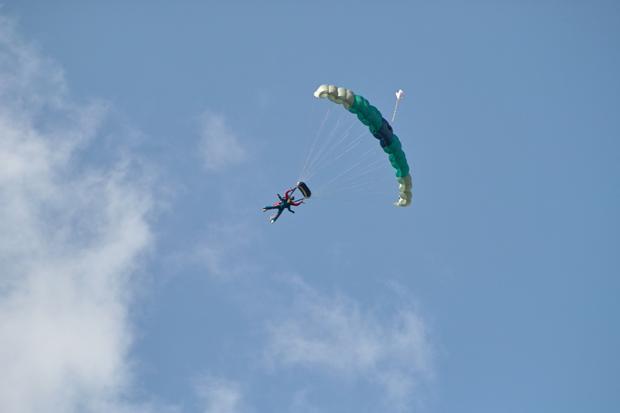 Tandem Skydive for RNIB