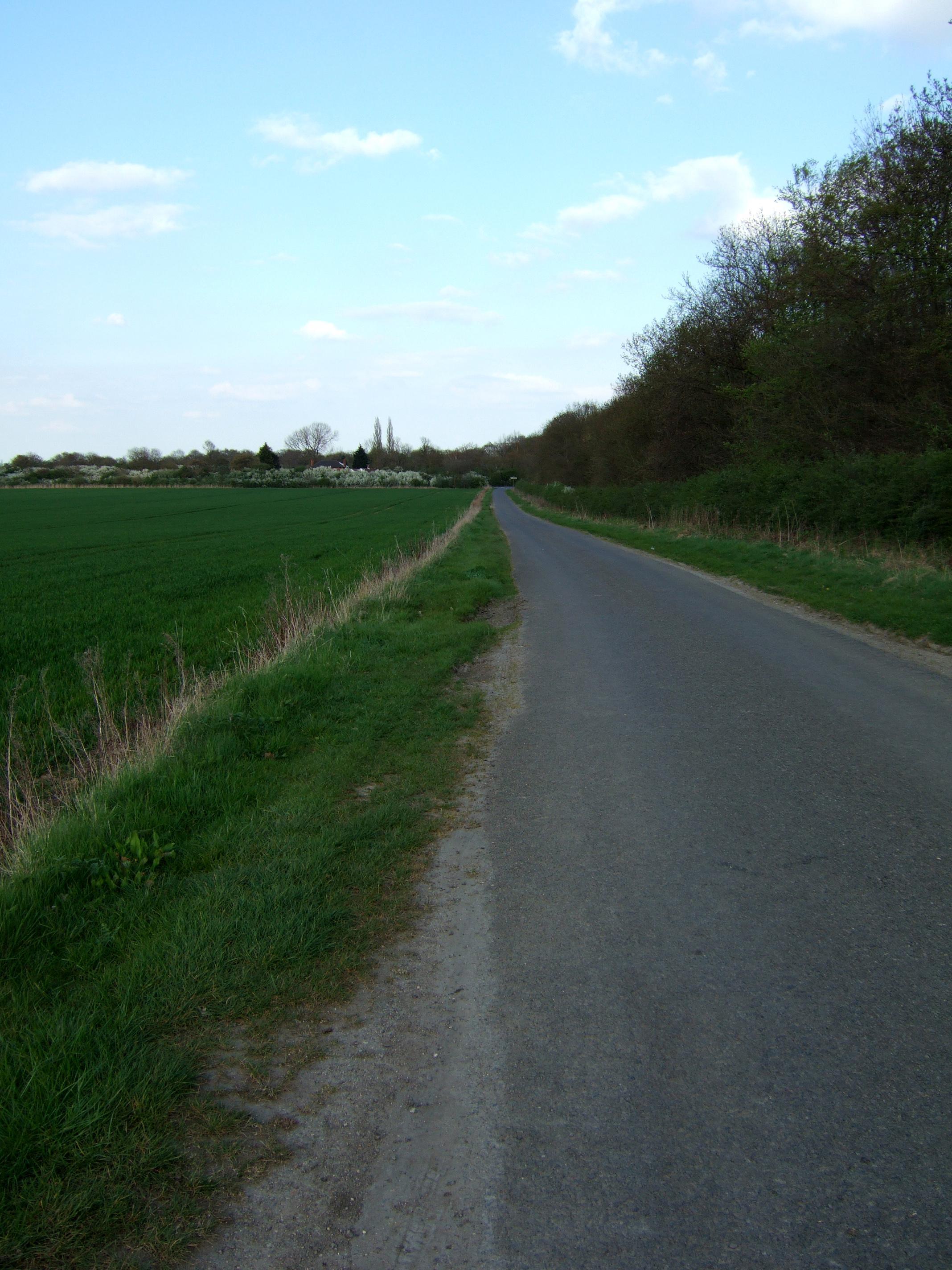 Rural road near Sleaford