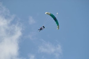 Tandem Skydive for RNIB - totally amazing