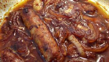 Very Lazy Posh Sausage Casserole