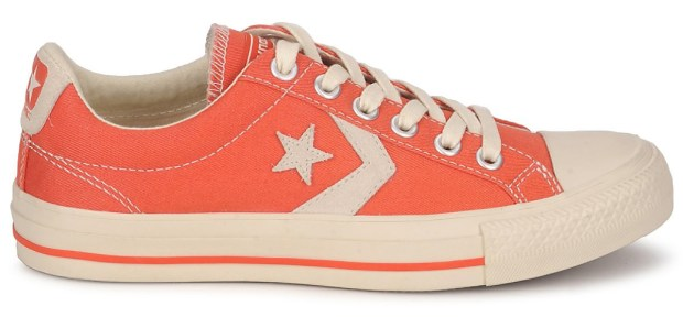 Orange Converse Star Player from Spartoo.co.uk