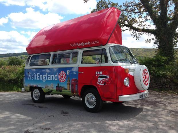 Fan in a Van - Rosie the Camper Van