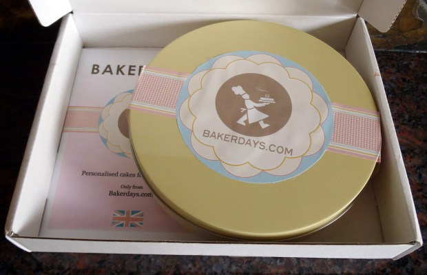 Baker Days Personalised Letterbox Cake