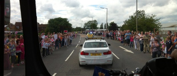 From the Torchbearer Bus - Bracebridge Heath