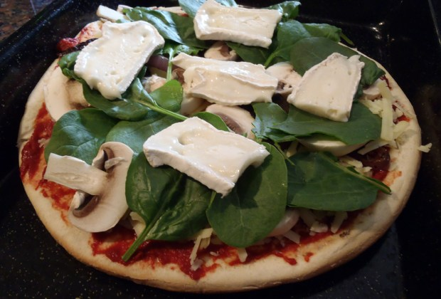 Goats Cheese Pizza - Mine