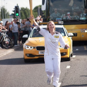 LONDON 2012 TORCH RELAY | MY MOMENT TO SHINE