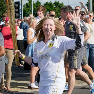 LONDON 2012 TORCH RELAY | THANK YOU FOR MY MOMENT TO SHINE