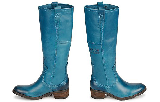 Blue Palladium Elisa Thck Boots