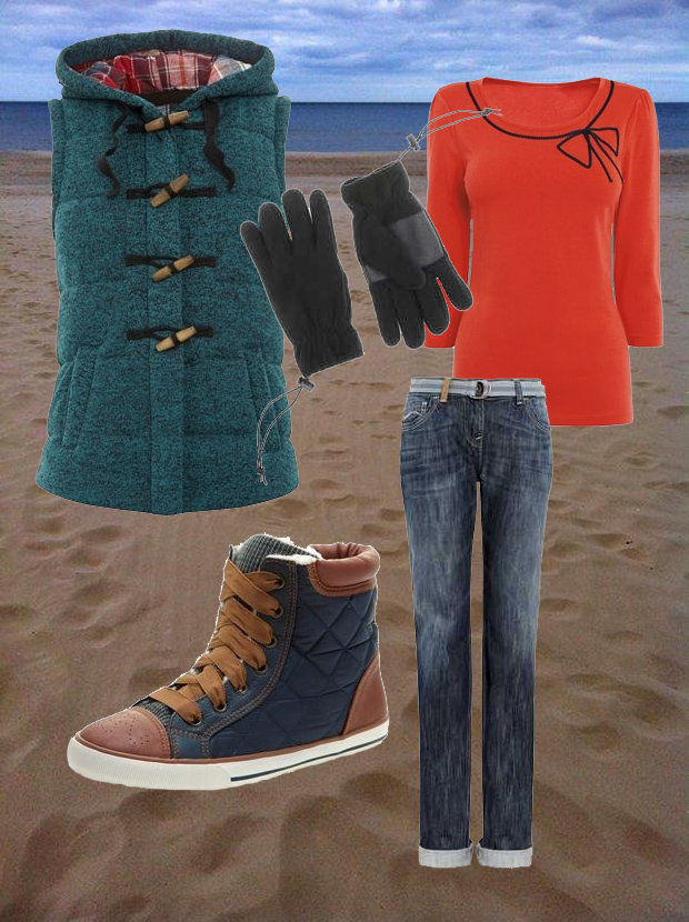 Winter Wardrobe - Beach Walk