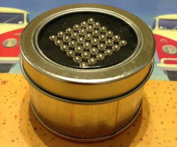 Magic Magnetic Balls Cube Puzzle