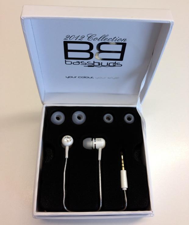 Bass Buds Headphones White