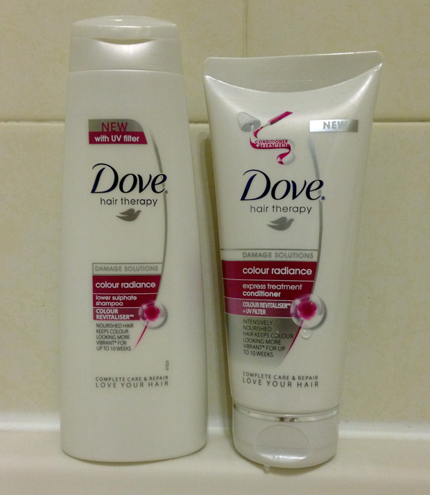 Dove Colour Radiance Shampoo and Conditioner