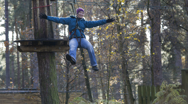 Go Ape Tree Top Adventure