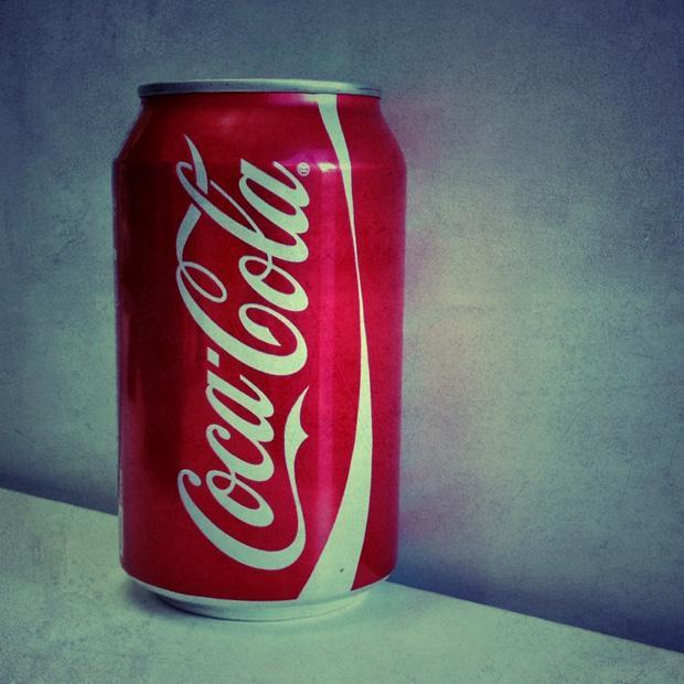 Smart Phone Square - Icon - Coke Can