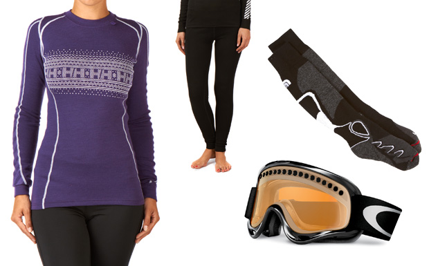 Thermals, Socks and Goggles