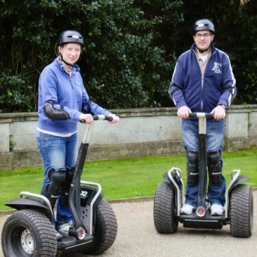 Segway Experience at Thoresby Hall