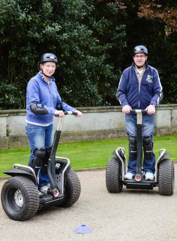 Segway Experience, April 2011