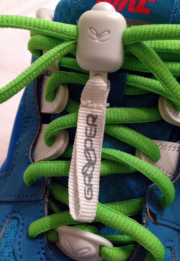 Greeper Laces on my Nikes