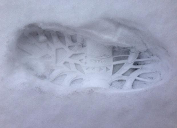 KEEN Hoodoo High Lace Footprint