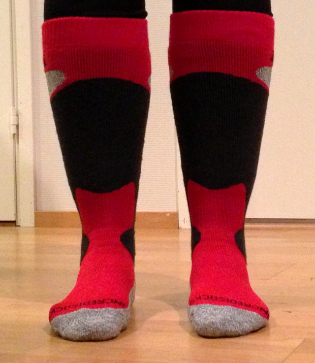 Incredisocks Modelled by Me