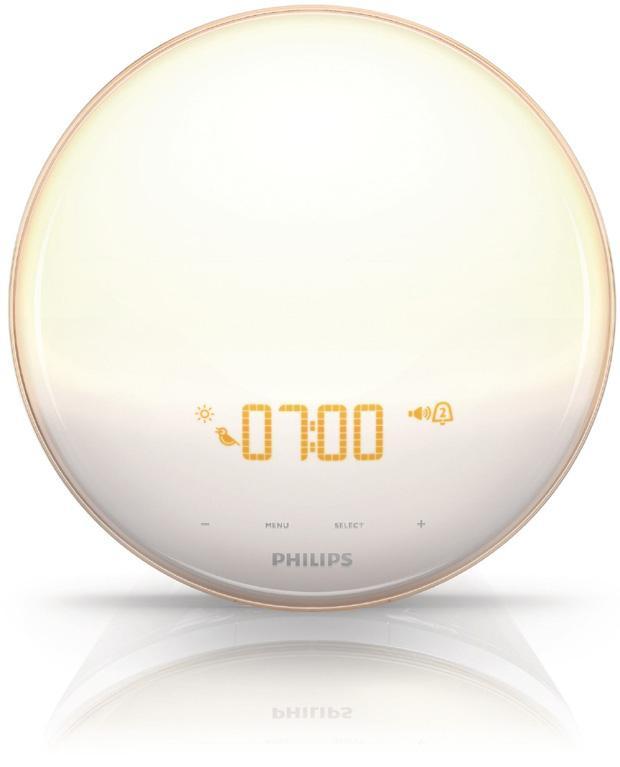 Philips Wake Up Light (Photo from Philips Website)