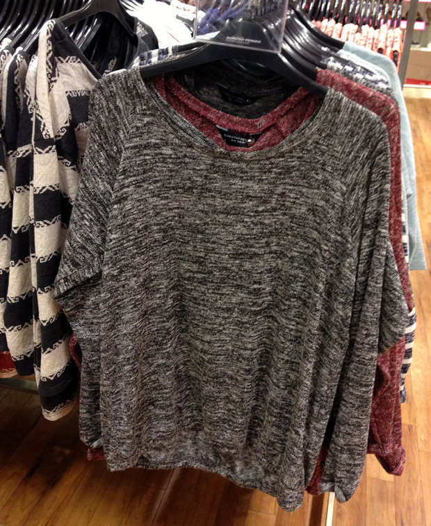 Sweater from Dorothy Perkins £20