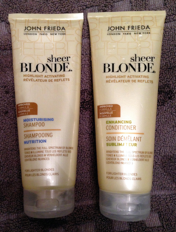 John Frieda Highlight Moisturising Shampoo and Conditioner
