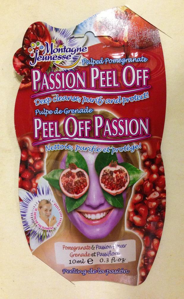 Montagne Jeunesse Passion Peel Off Face Masque