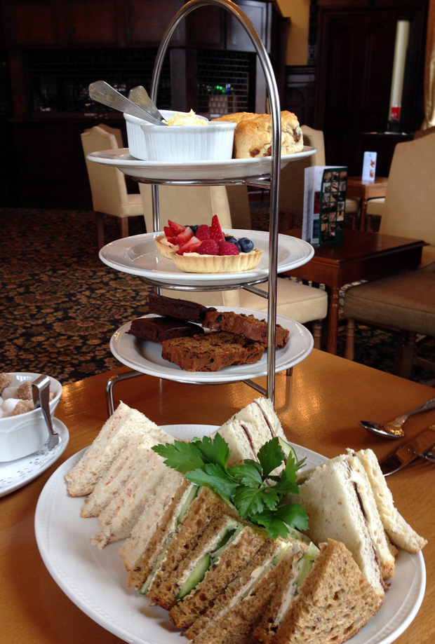 Afternoon Tea at Stoke Rochford Hall