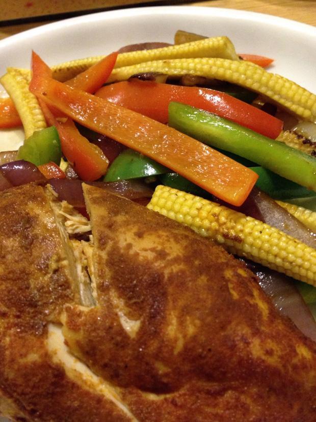 Chicken Cooked in Tropical Sun Peri Peri Seasoning