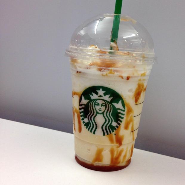 Starbucks Caramel Cream Frap