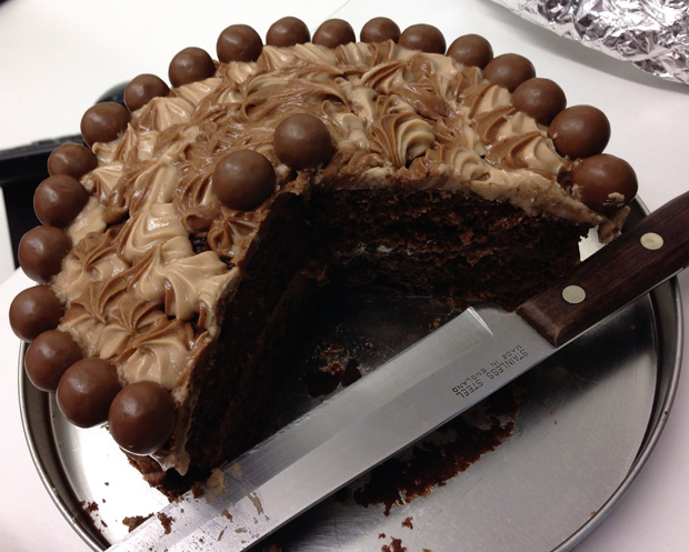 Fabulous Maltesers Chocolate Cake for Red Nose Day
