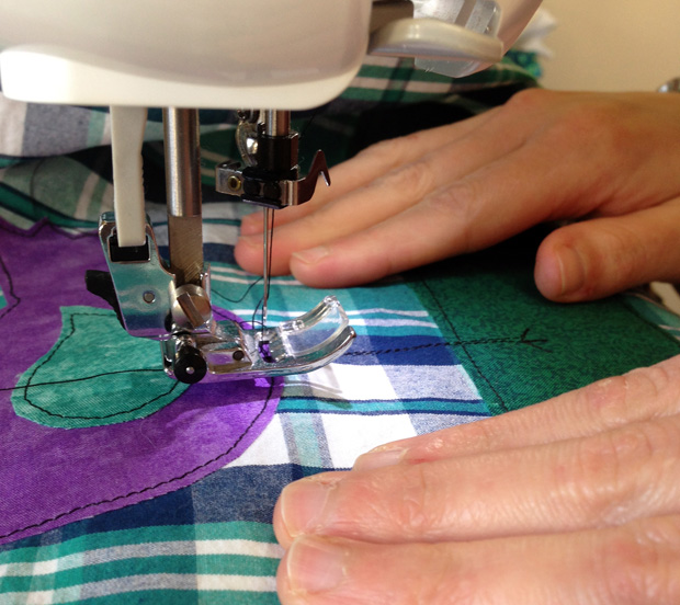 My Sister Sewing