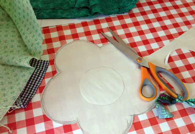 Making our Cushion Cover Patterns