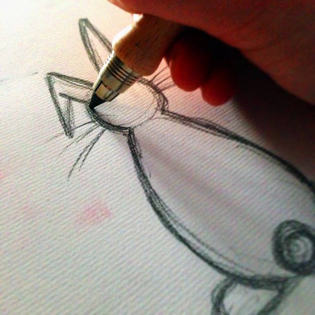 Sketching a Rabbit