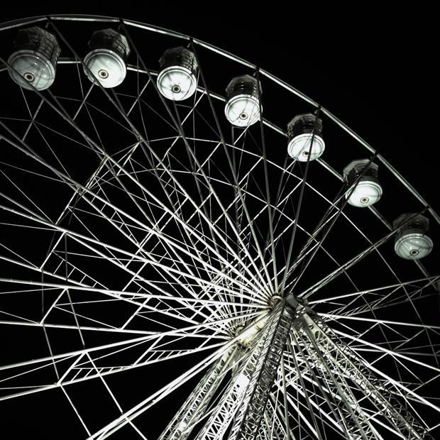 Big Wheel at Night (Lincoln Christmas Market)