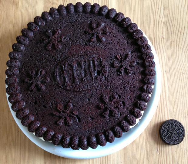 Home Made Oreo Cake Comparison