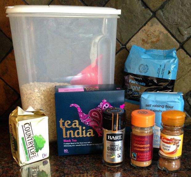 Tea India Cookies Ingredients