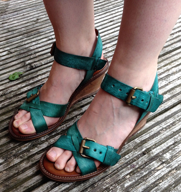 Air Step Solaris Wedge Sandals