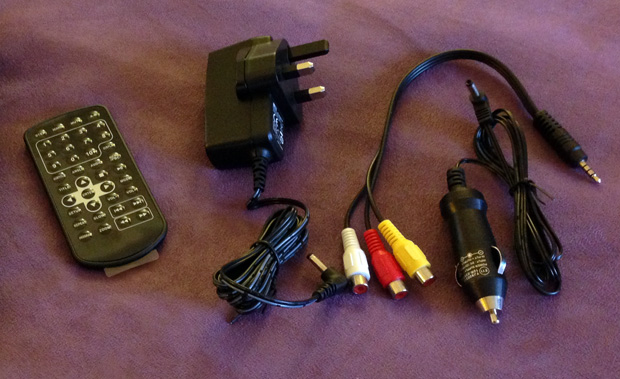 Currys Essentials Portable DVD Player Accessories