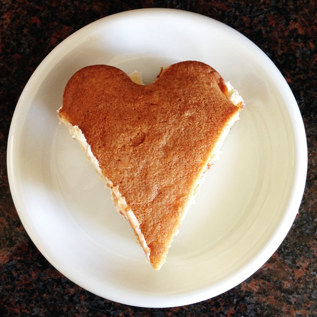 Hearty Slice of Cake - Victoria Sponge