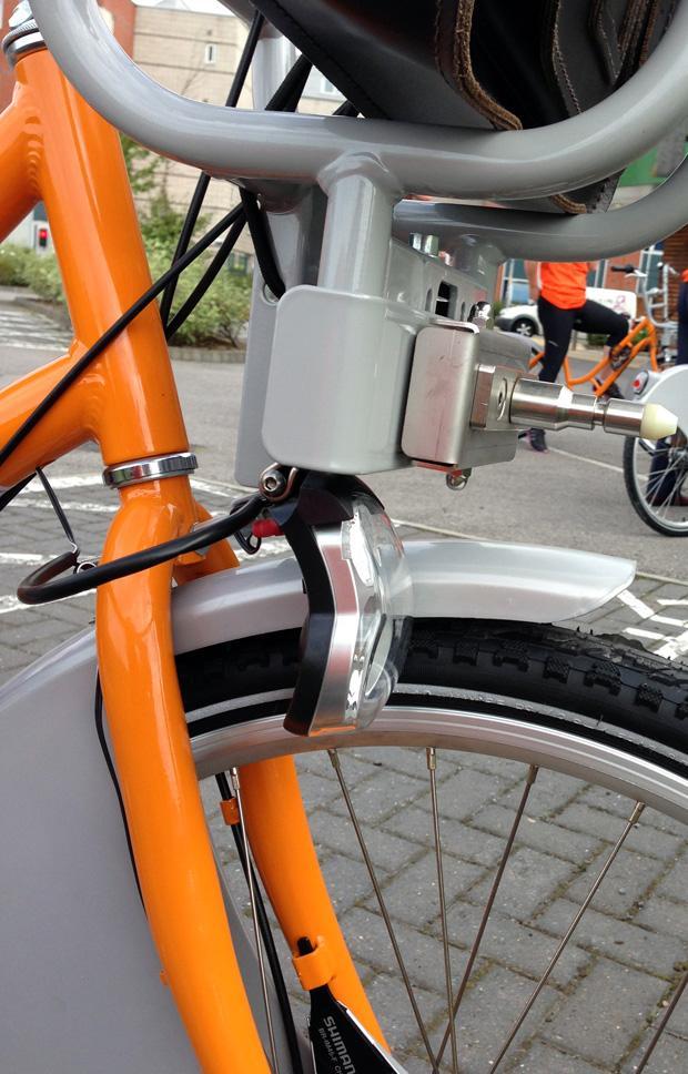 Lincoln Hirebike Scheme Launch