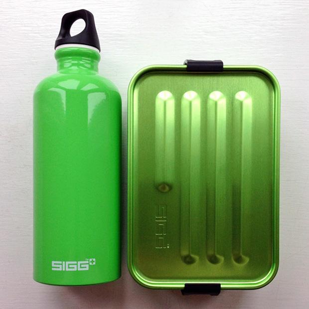 SIGG Bottle and Sandwich Tin