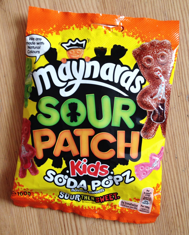 Maynards Sour Patch Kids Soda Popz