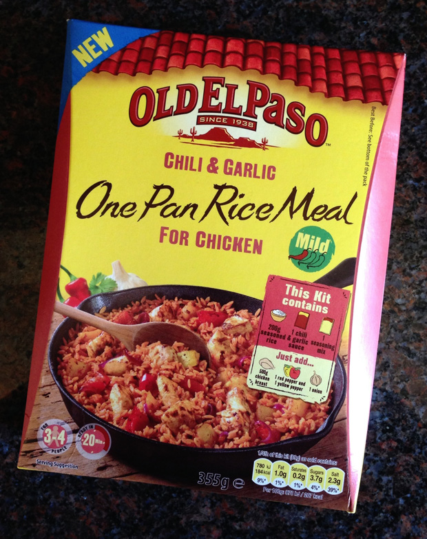 Old El Paso One Pan Rice Meal Kit