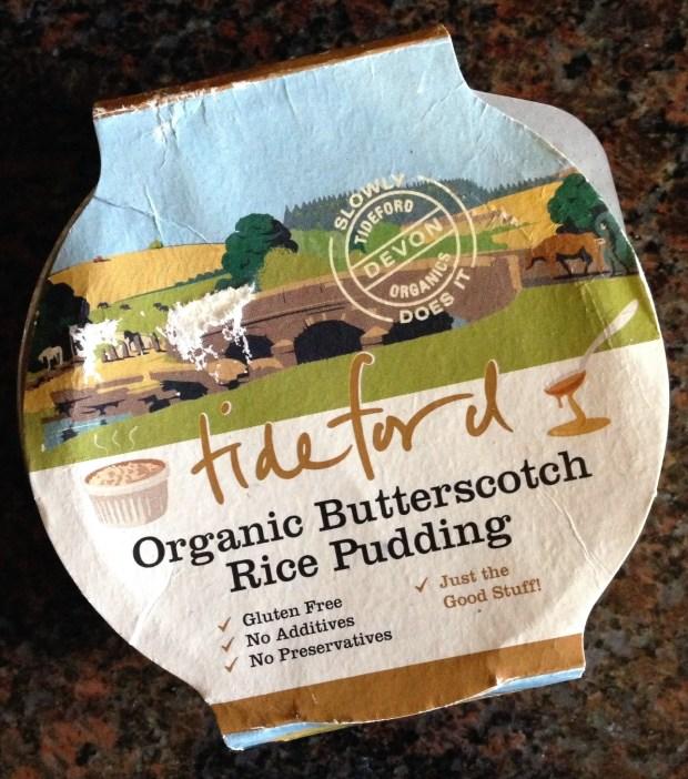 Tideford Organics Rice Pudding