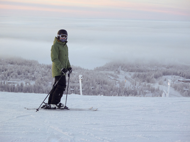 Stood at Ruka Peak, Finland