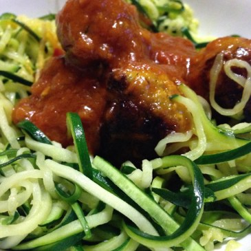 "Recipe | Courgette Spaghetti… ""Courgetti"""