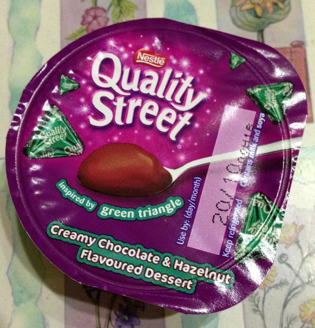Quality Street Green Triangle Dessert